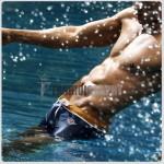 Sparkling Swimwear Trunk