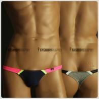 Extra Low Waist Duo Colors T-back - Men's Underwear